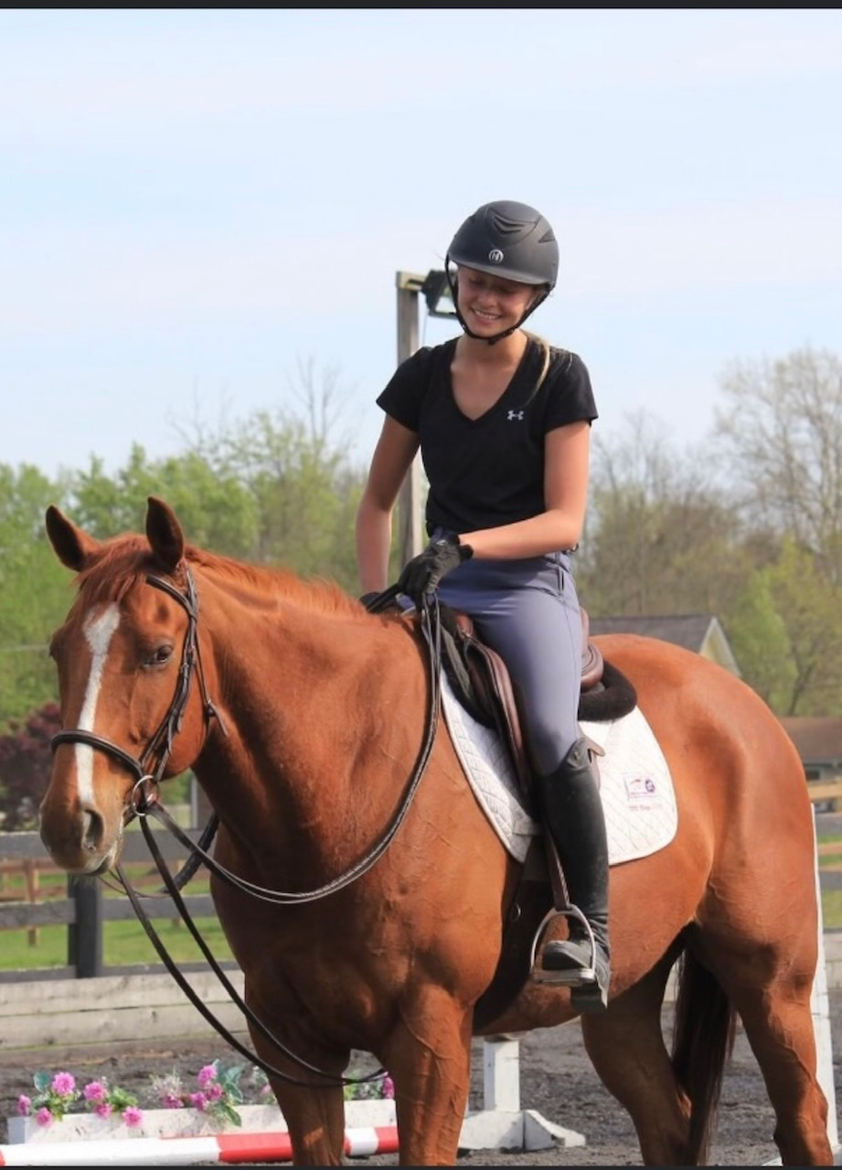 Emily and her horse